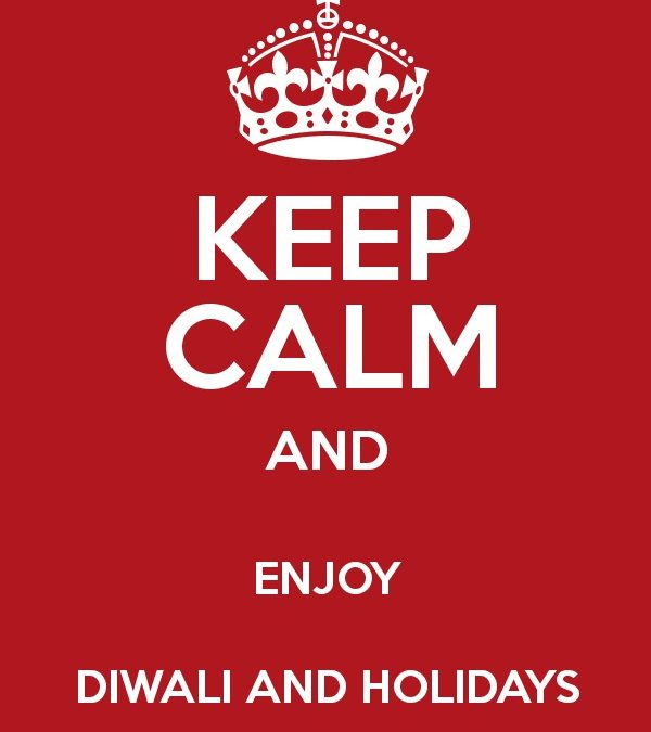 Diwali Holidays from 4.11.2018 to 25.11.2018